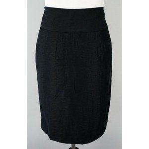 CLUB MONACO Pleated Split Front Party Skirt